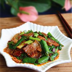 青蒜回锅肉
