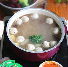 浓汤菌菇火锅