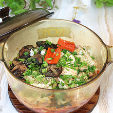 菌菇杂烩豆腐煲