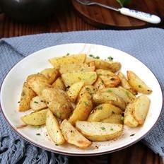 黑椒炸土豆