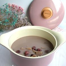 奶香红豆荔枝芋艿甜汤