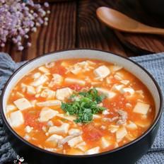 番茄肉丝豆腐羹