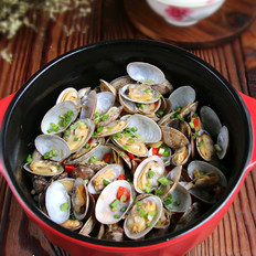 蛤蜊肉末粉丝煲