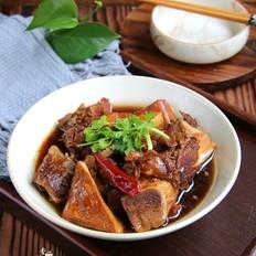 棒骨炖豆腐干