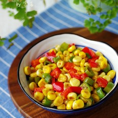尖椒玉米粒