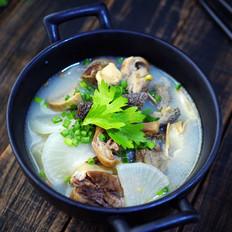 【三羊开泰】白萝卜羊杂汤