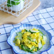 黄瓜炒鸭蛋