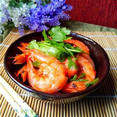 微波番茄虾的做法大全