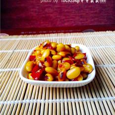 剁椒豉油焖黄豆