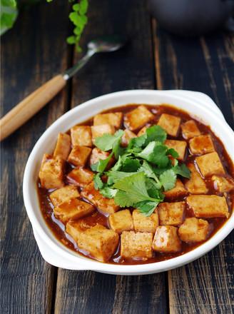叉烧豆腐#午餐#的做法