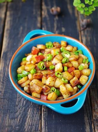 香辣干锅土豆#午餐#的做法