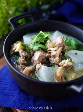 白萝卜羊肉汤的做法