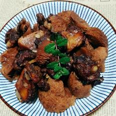 排骨红烧猴头菇