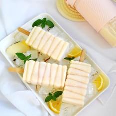 桃子酸奶冰棒