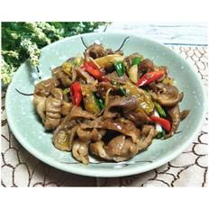 野山椒炒肥腸