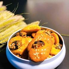 香草葡萄饼干