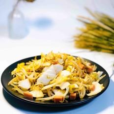 豆芽炒酸白菜