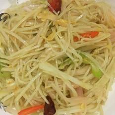 泡菜土豆丝