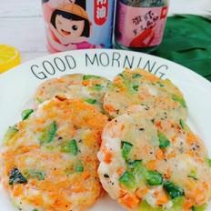 鲜虾蔬菜饼
