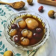 桂圆红枣鸡蛋糖水的做法大全
