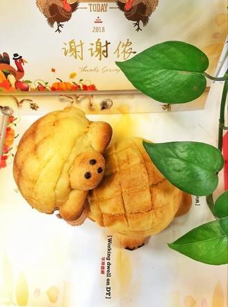 乌龟菠萝包的做法