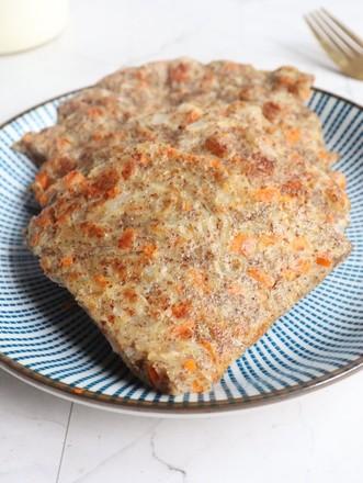 洋葱胡萝卜全麦饼的做法