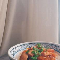 番茄午餐肉盖饭