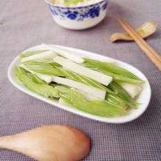 山药炒芹菜