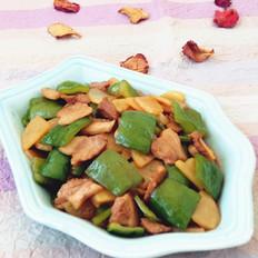 五花肉炒土豆辣椒
