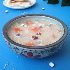 芡实胡萝卜小米粥