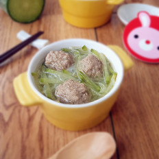 萝卜羊肉丸子汤