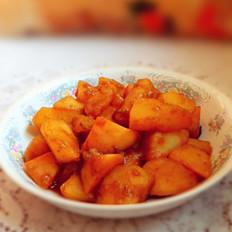 土豆炖萝卜