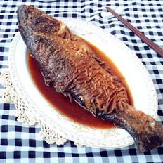 【连年有余】红烧鲢鱼