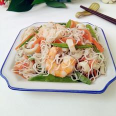 海鲜炒米粉
