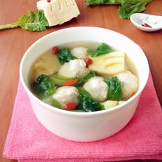 【猪圆迎春】猪肚丸春笋汤