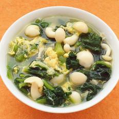 菠菜白玉鸡蛋汤