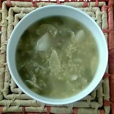 绿豆百合小米粥