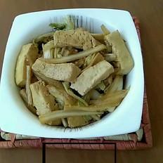 豆腐烧白菜