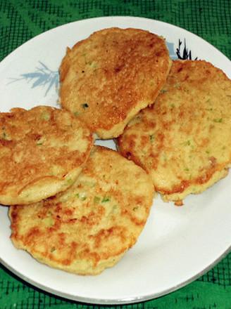 瓜皮豆渣鸡蛋饼的做法