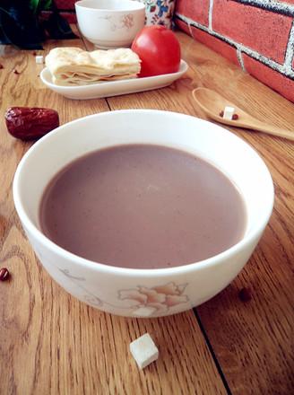茯苓双红豆浆的做法