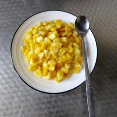 清炒玉米粒