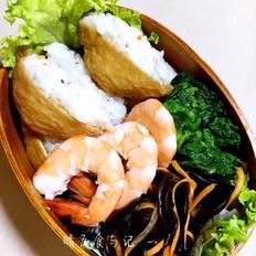 油豆腐寿司便当让你一天充满能量!