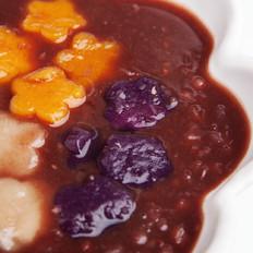 红豆芋圆汤