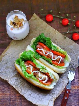 热狗三明治的做法