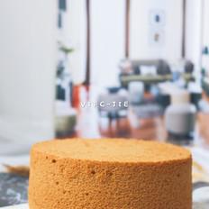 6寸红糖枣泥戚风蛋糕