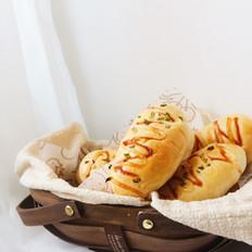 汤种庞多米沙拉香葱面包