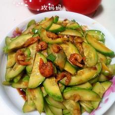 黄瓜拌海米