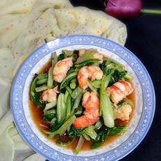 小白菜烧虾