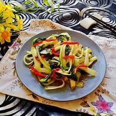 蚝油炒小白菜