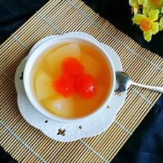 雪梨木瓜甜汤